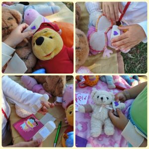 Easy DIY Felt Bandage hospital play for children - Mummy Musings and Mayhem