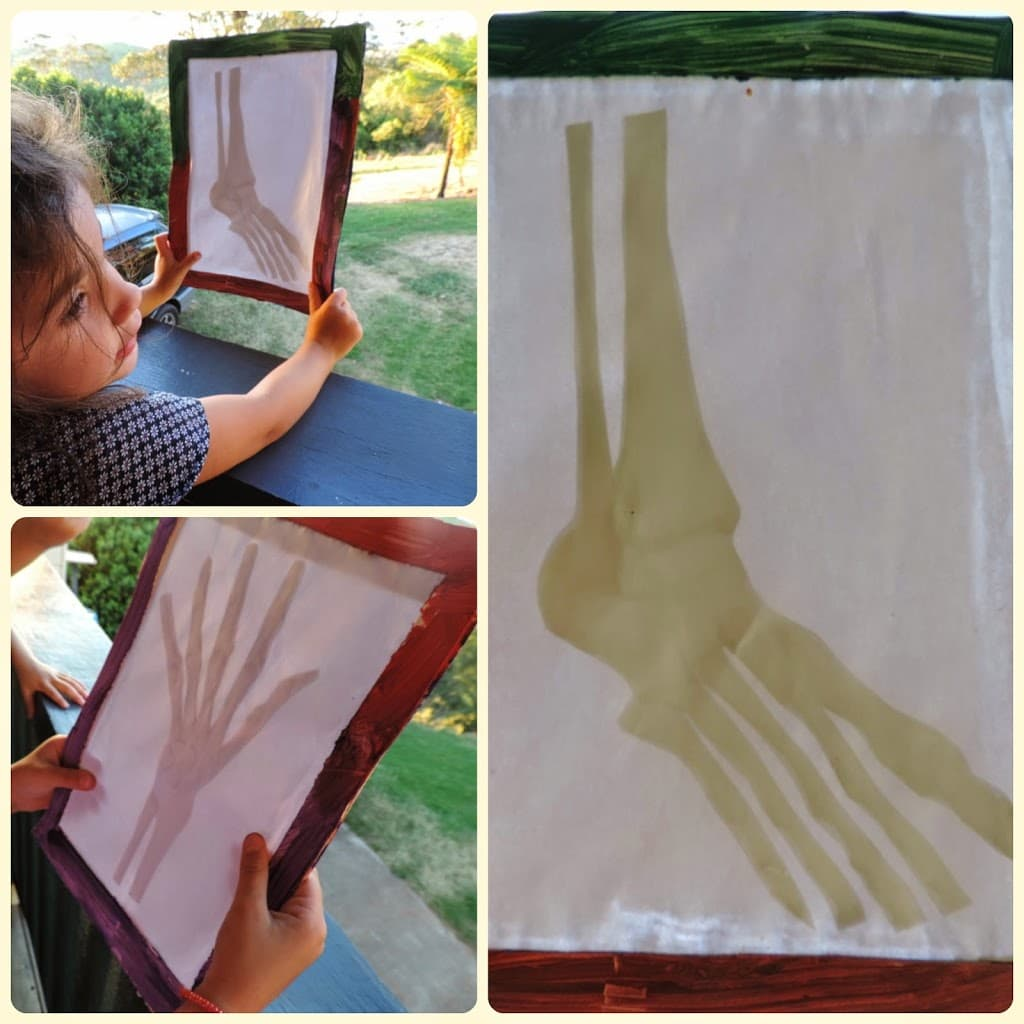 Children's Easy Cardboard X-ray Tablet - Mummy Musings and Mayhem