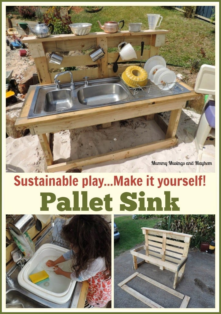 Recycling Fun with Rubbish and Pallets!