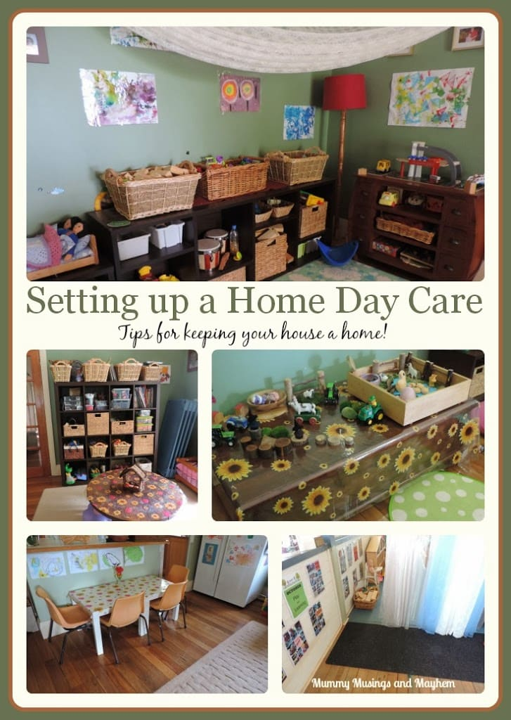 Setting up for Home Child Care – Tips for keeping your house a home!