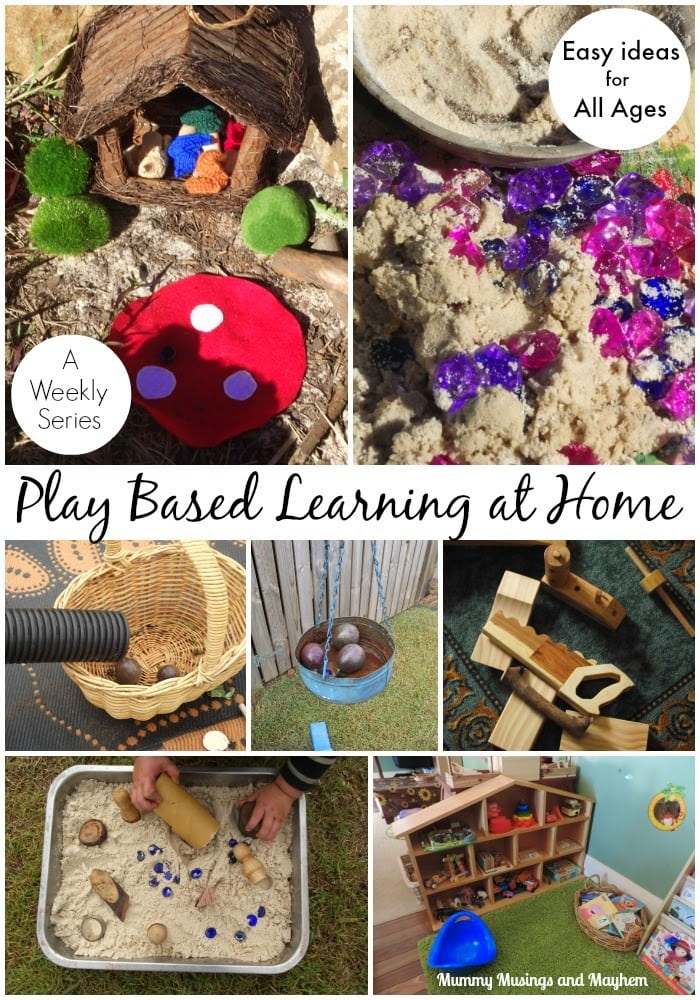 Our Weekly Wanderings – Ideas for Play Based Learning at Home!
