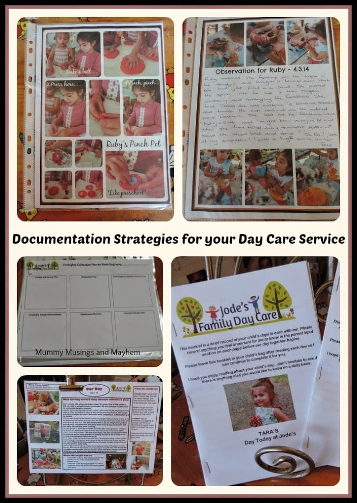 Documentation strategies for family child care & early years educators using the EYLF outcomes. Meet every step of the programming cycle easily.
