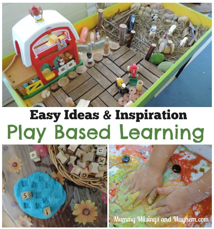 A Week of Play Based Learning – Ideas, Activities & Inspiration