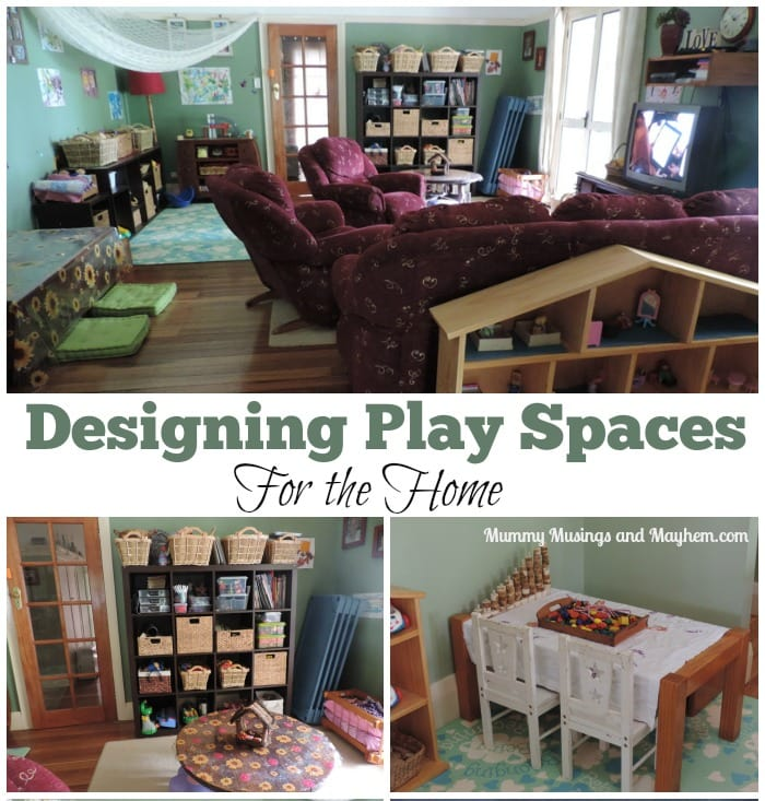 Designing play & learning spaces for home – Part 1 Indoors.