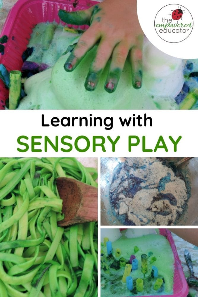 learning with sensory play pinterest 1