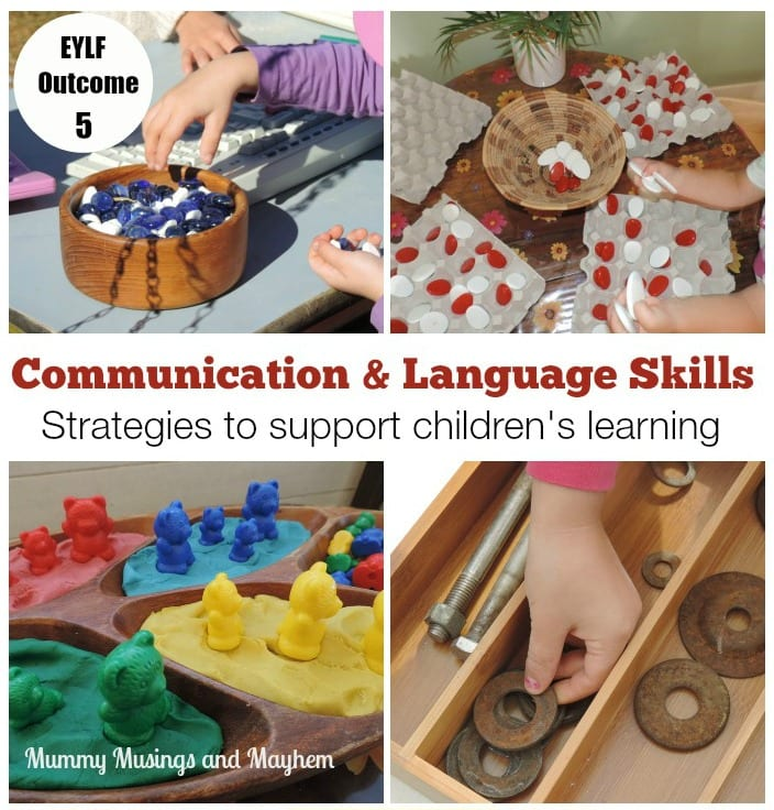 Supporting children under 5 to communicate effectively.