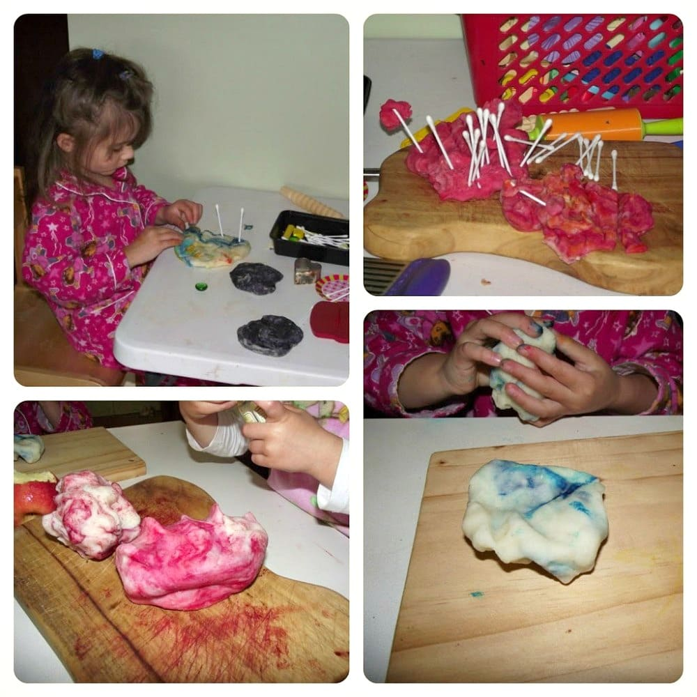 Ideas and inspiration for play based sensory learning with playdough. Mummy Musings and Mayhem