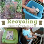 Recycling with children – easy ideas to get them involved!