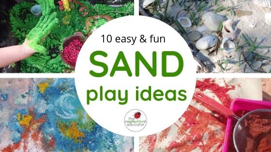 sand play ideas