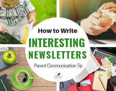 Writing Engaging and Useful Newsletters for Parents
