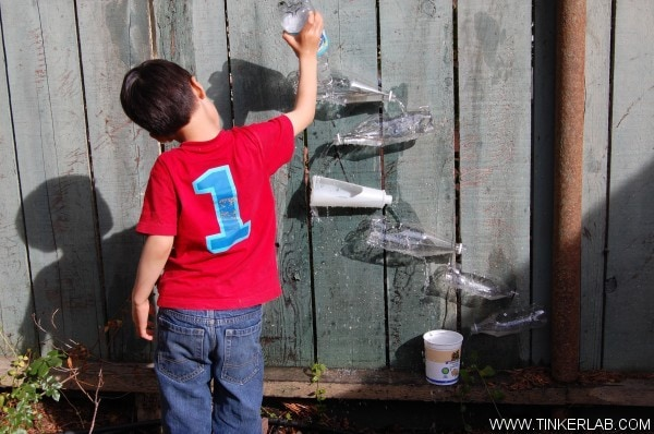 Over 25 ideas for recycled or upcycled fun with outdoor play - see more at mummymusingsandmayhem.com