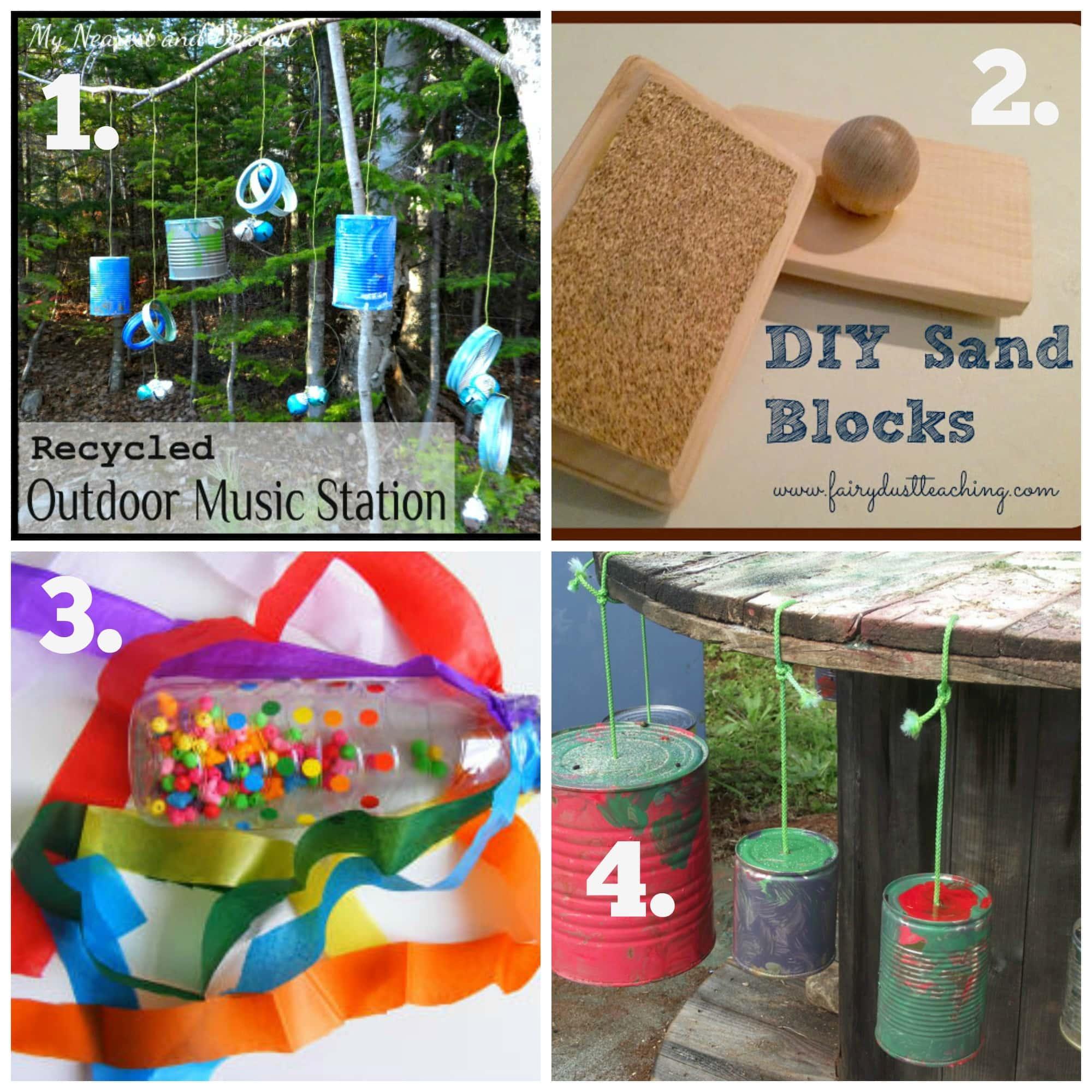 DIY Recycled Play Series #2 –  Musical Fun!