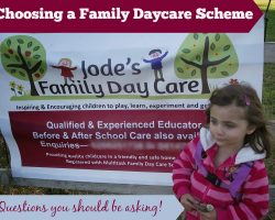 Choosing a Family Daycare Scheme – what do you need to consider?
