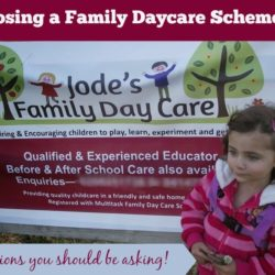 Choosing a family daycare scheme - the questions you should be asking! Mummy Musings and Mayhem
