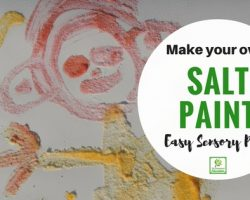 Sensory Painting for children – Exploring texture through art