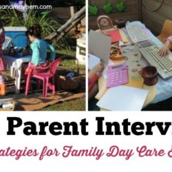 Strategies and tips to ensure your next family day care parent interview is successful! See them all at Mummy Musings and Mayhem
