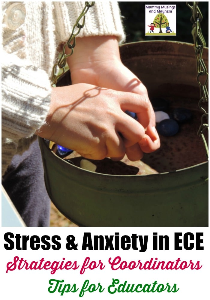 Stress & Anxiety in the Early Childhood Profession.