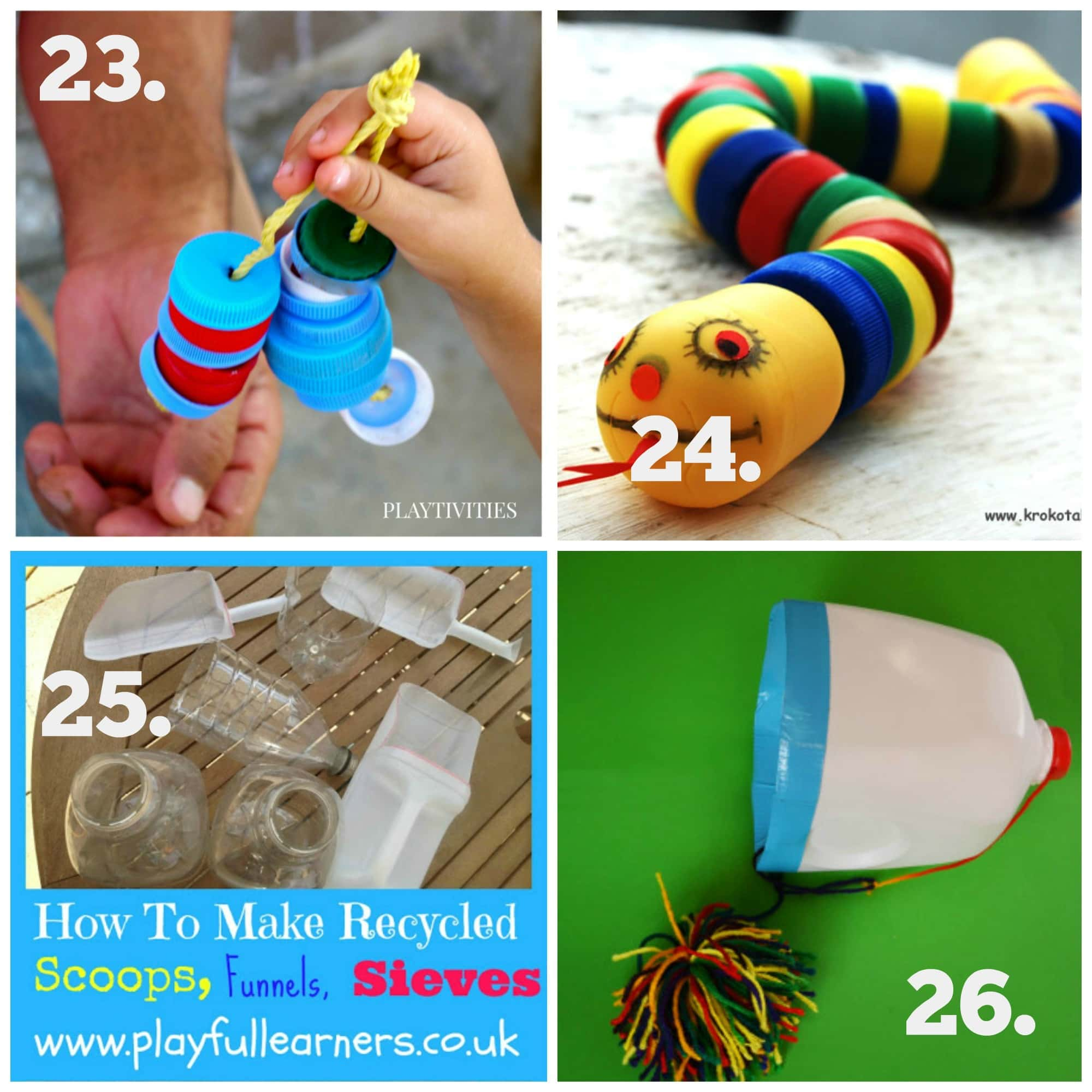recycled play series - diy baby & toddler toys - the empowered educator