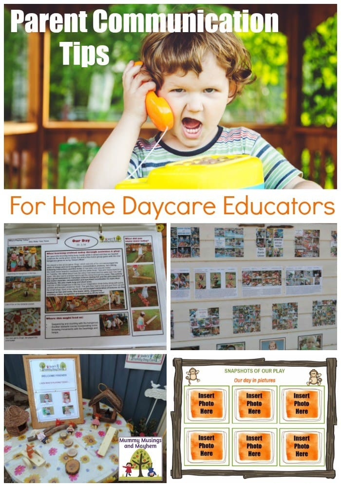 Communicating meaningfully with parents and families in a daycare service can be frustrating - these 12 strategies will ensure parents feel engaged! Article includes free parent communication template to download!
