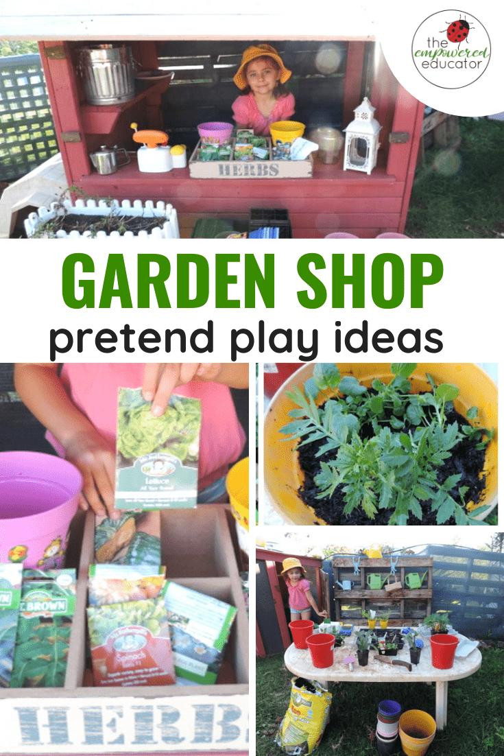 GARDEN SHOP PRETEND PLAY IDEAS PINTEREST
