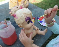 Inviting Imagination into Outdoor Play with Facepainting