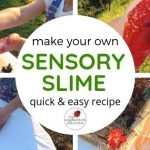 Easy Sensory Slime Recipe for Play