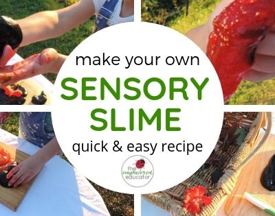 Easy Sensory Slime Recipe for Play