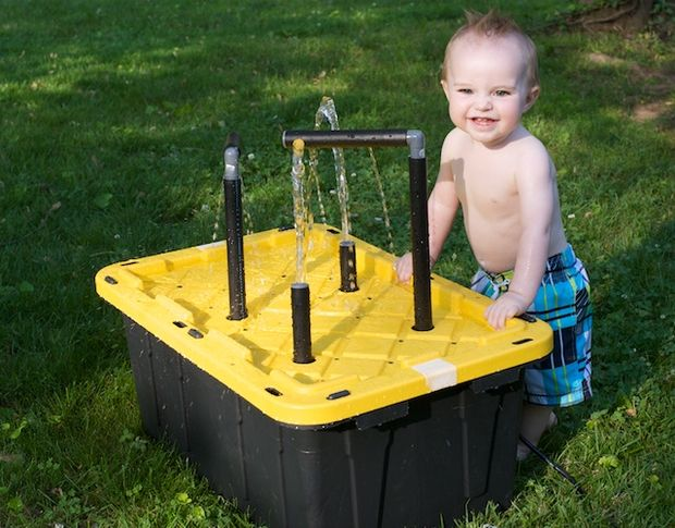 How To Build Your Own Water Sand Sensory Table For Play