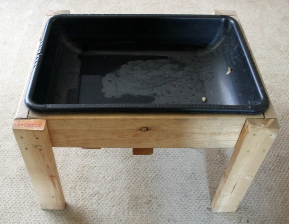Brilliant How To Build Your Own Water Sand Sensory Table For Play Download Free Architecture Designs Scobabritishbridgeorg
