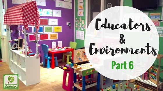 Family Day Care Educators and Environments #6
