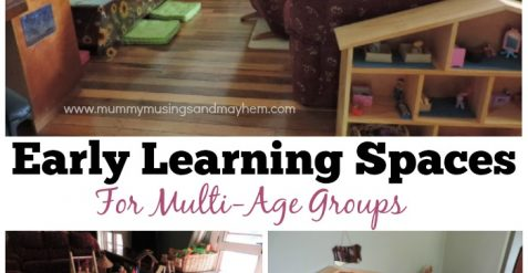 Creating Early Learning Spaces for Multi-Age Groups