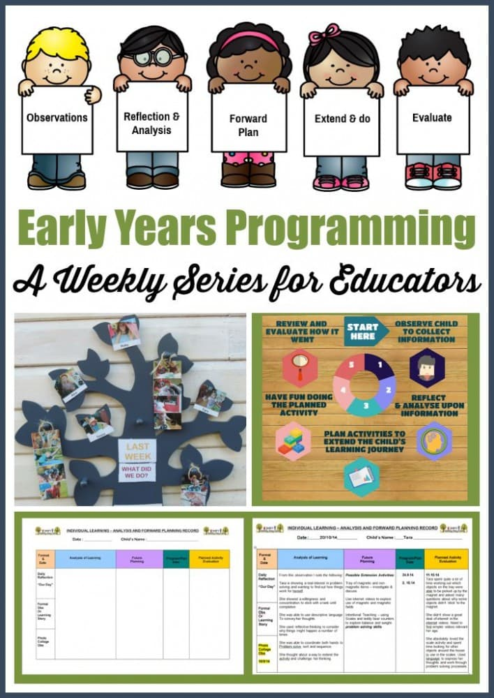 Early Childhood Programming series for educators and teachers - tips for making it effective but simple! Mummy Musings and Mayhem