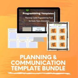 planning and communication template bundle