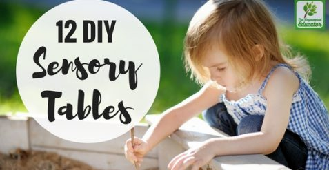 12 Easy DIY Sensory Table Projects