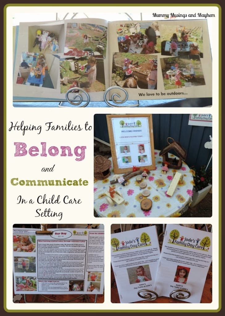 Encouraging Family Communication & Belonging in Early Childhood Environments….