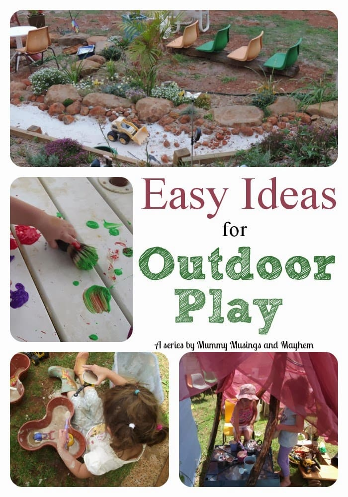 Easy Ideas and Inspiration for Outdoor Play