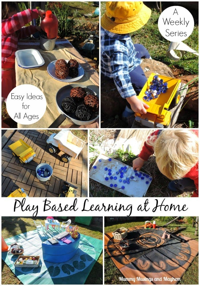 Our Weekly Wanderings – Ideas for Play Based Learning at Home