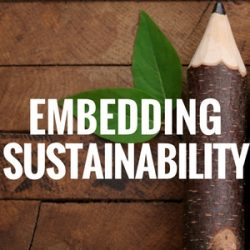 Embedding Sustainability