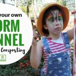 Sustainability in the Garden – How to Make a  Worm Tower!