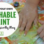 How to make and play with Homemade Paint
