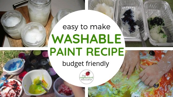easy to make diy washable paint recipe feature