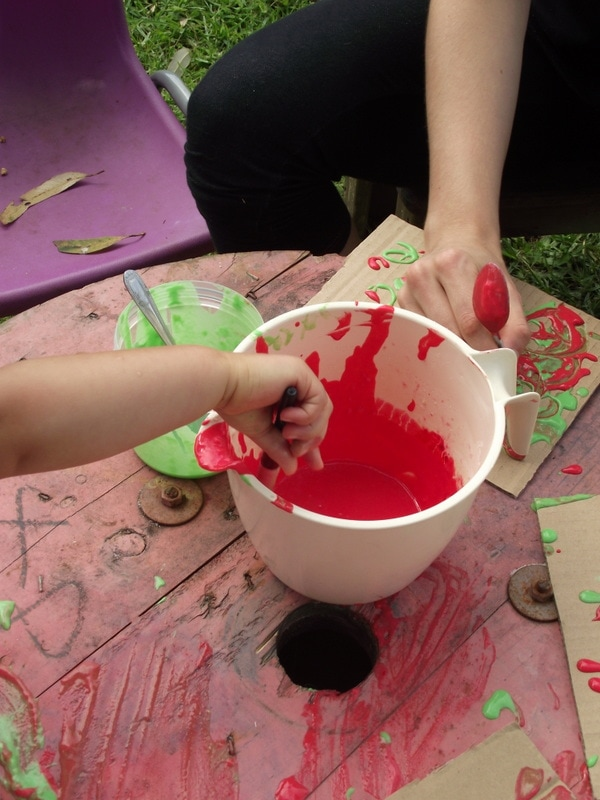 Create your own homemade puffy paint for sensory and creative play using this easy recipe. Simply paint then watch as it puffs up!