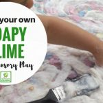 Soapy Sensory Slime