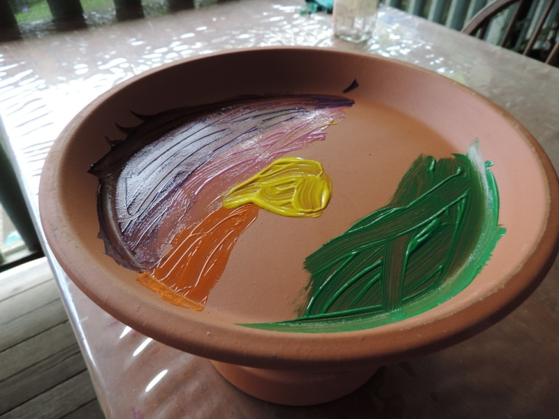 Encourage birds into your backyard or outdoor play area with this simple DIY garden birdbath project for children. Includes ideas for early childhood educators and teachers to extend on the play and learning. Easily modified for younger children and simple instructions to follow!