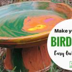 Make your own Birdbath!