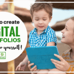 Creating Paperless Child Portfolios (Includes Video!)