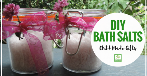 DIY Bath Salts – Mother's Day Gift Fun!