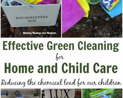 Effective and Safe Green Cleaning for Home and Daycare!