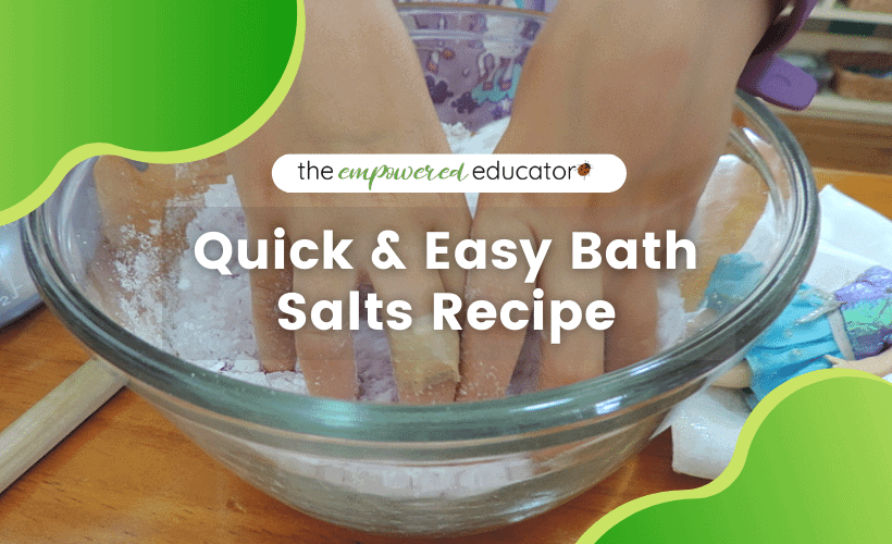 quick and easy baths salts recipe