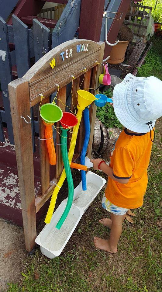 Day At The Track >> Ideas for Children's Outdoor Play Areas and Activities